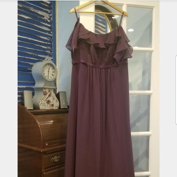 David's Bridal Dresses & Skirts - Plum Bridesmaid Dress